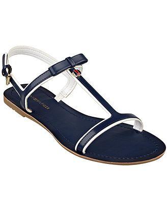 Tommy Hilfiger Women's Lisel Flat Sandals - Shoes - Macy's