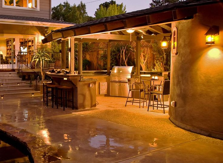 outside grill? pool parties all year round