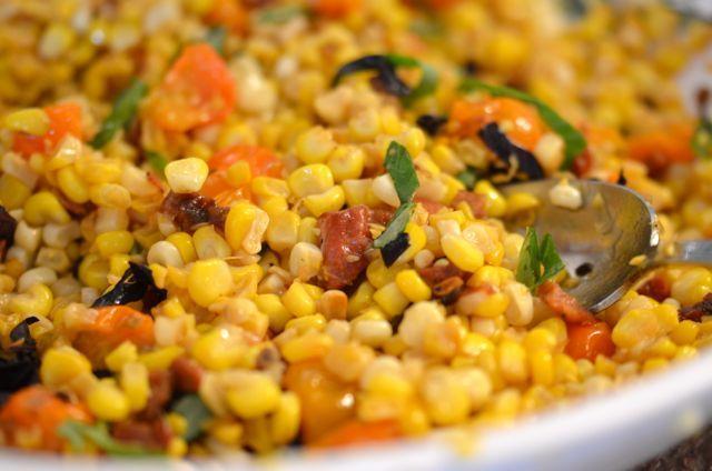 Summer corn salad | Putney Farm Recipes | Pinterest