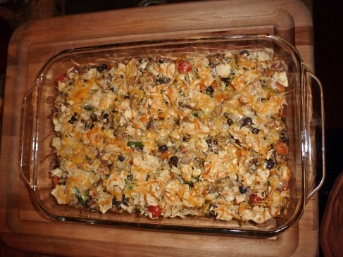 chicken and black bean casserole | Stuff That Looks YUMMY | Pinterest