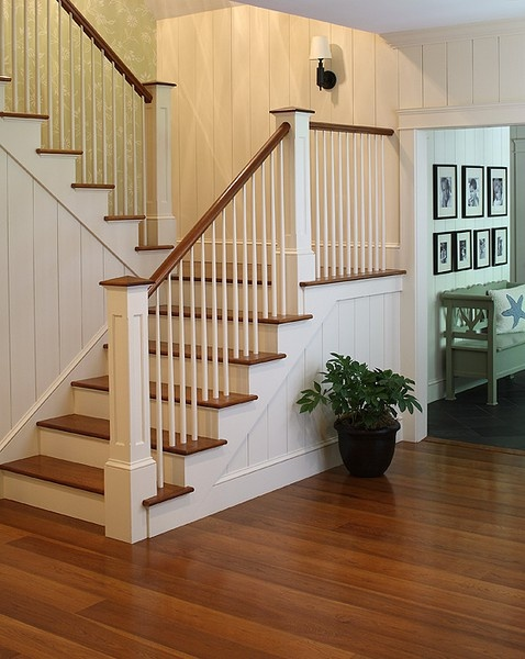 Comwood Flooring Steps : wood floor,stairs...  Home Improvement Projects  Pinterest