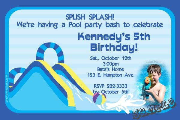 Pool Party Invitations Wording was nice invitations layout