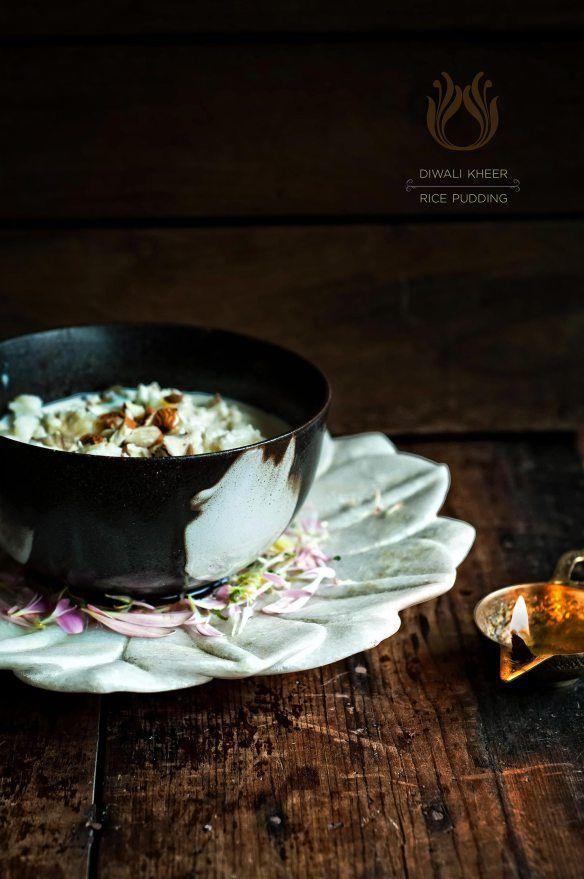 Diwali Kheer / Rice Pudding | use a vegan milk or coconut milk