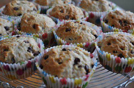 oatmeal chocolate chip muffins 009 | Muffins | Pinterest