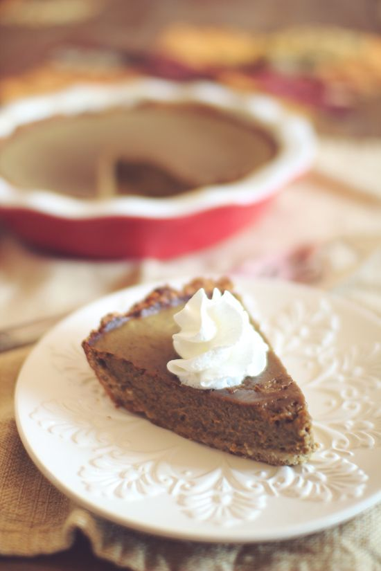 Skinny Pumpkin Pie ~ 2 Ways! | Foodie Crush | Pinterest