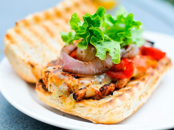 Blackened Chicken Breast Sandwich, perfect for the summer with a nice ...