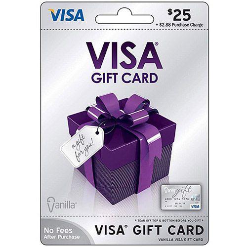 Visa Gift Card Visa USD25 Gift Card: Gift Cards : Walmart.com