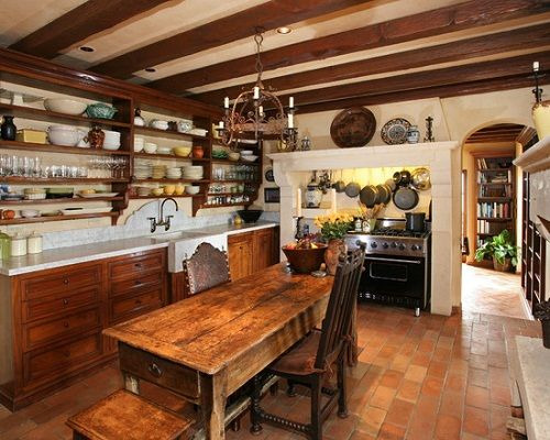 French country kitchen tables ideas kitchen pinterest for French rustic kitchen ideas