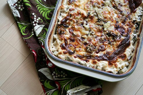 Potato & Kale Gratin. I can either make this tonight OR in 40 days.