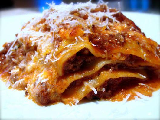 Lasagne alla Bolognese | Einfaldur kvöldmatur | Pinterest