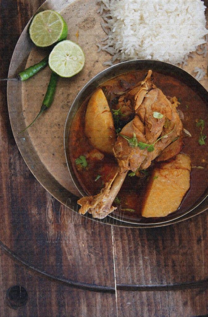 Robibar er Murgi-r Jhol: Sunday afternoon Chicken Curry