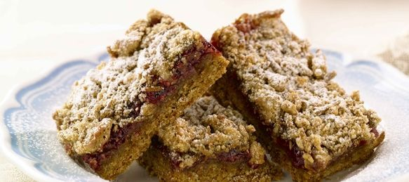 Allbran - Raspberry Streusel Bars | Yum | Pinterest