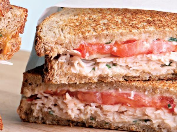 Turkey & Tomato Panini Recipe — Dishmaps