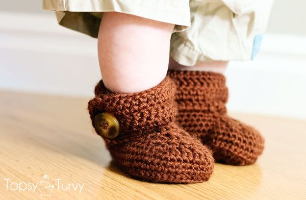 crochet-baby-wrap-button-boots pattern