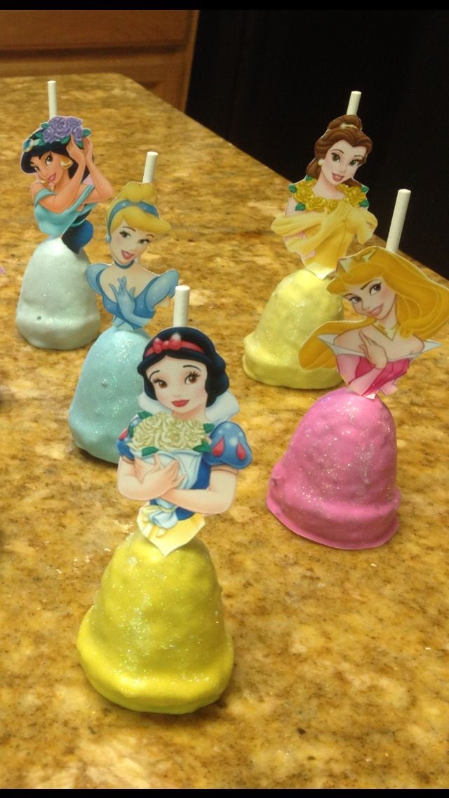 PRINCESS CAKE POPS