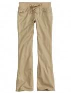 School Uniform Knit Waist Bootcut Pant