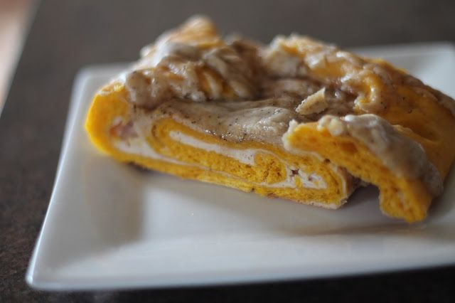 ... Kitchen: Pumpkin Cream Cheese Swirl Bread with Brown Butter Glaze
