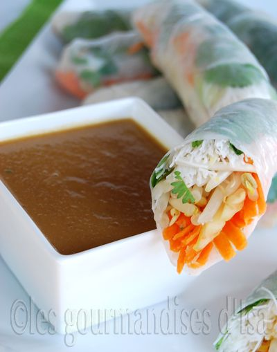 Chinese Chicken Spring Rolls Recipes — Dishmaps