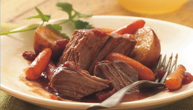 Slow Cooker Southwestern Pot Roast Recipe by Betty Crocker Recipes ...