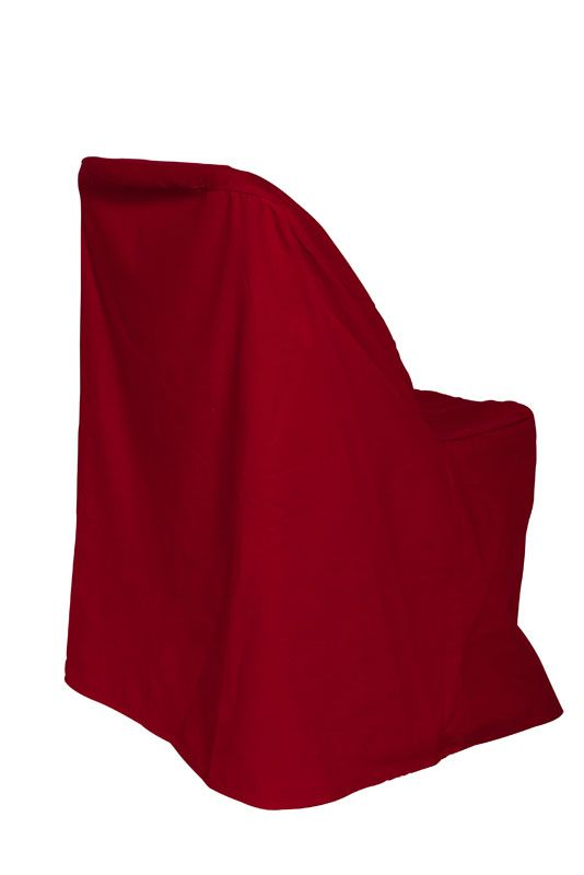 Poly Red Folding Chair Cover Chair Covers Pinterest