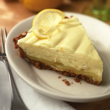 Lemon White Chocolate Mousse Pie with Honey Graham Cracker Crust ...