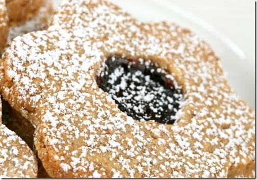 Linzer sables | Food - Cookies & Biscuits | Pinterest