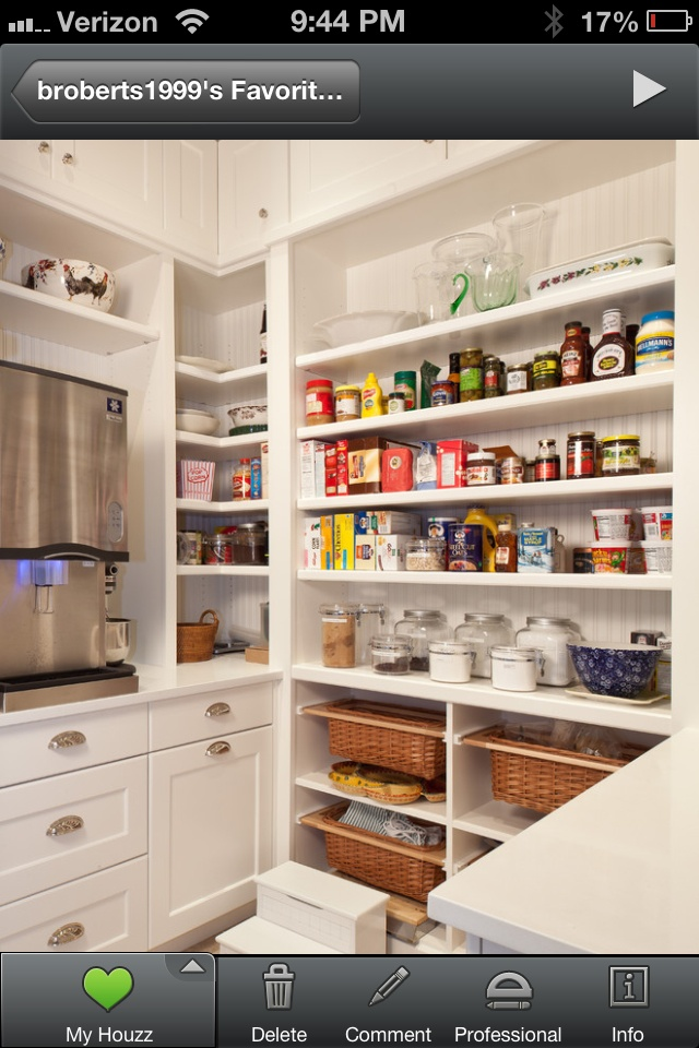 Pinterest for Additional kitchen storage ideas