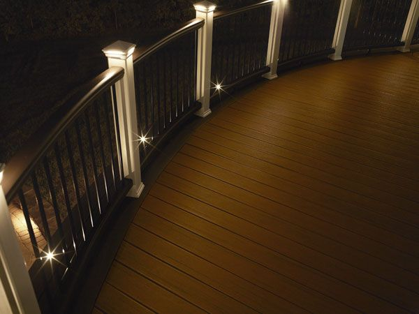 AZEK Deck Rail Lighting. https://carefreehomescompany.com/decks-porches/