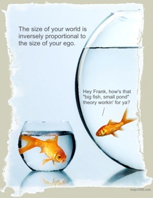 Big fish in a small pond quotes pinterest for Big fish pond