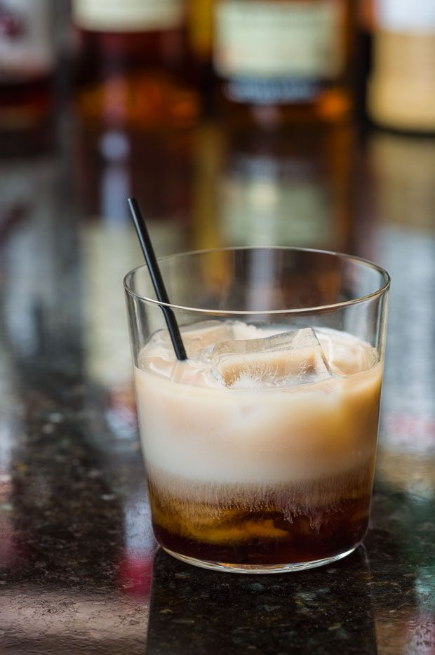 White Russian Cocktail - this vodka, Kahlúa and cream classic gets a ...