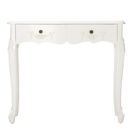 Toulouse white console table dunelm entrance hall furniture and a - Dunelm console table ...