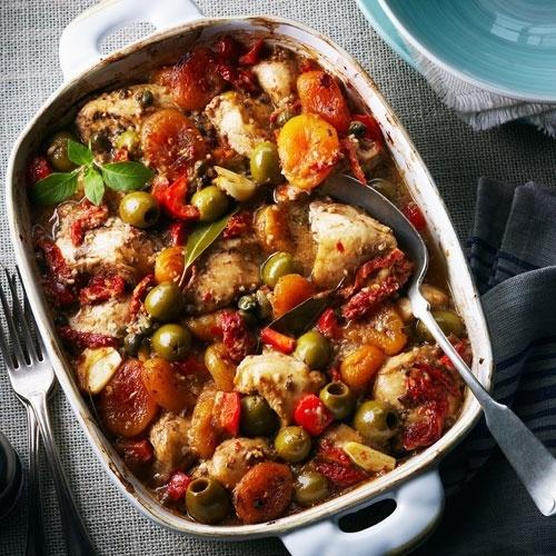 Modern Chicken Marbella Recipe - On the menu tonight! #ChickenDotCa