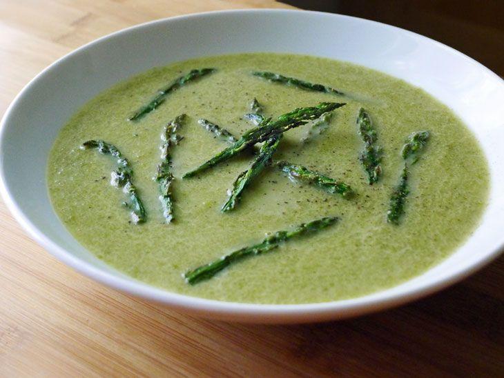 Asparagus Soup | Food & Wine | Pinterest
