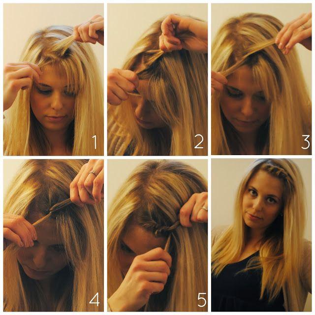 Как можно сделать челку фото