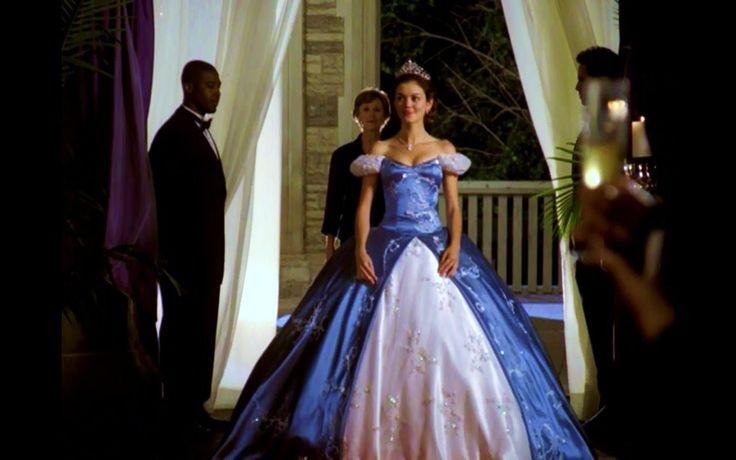 Princess a modern fairytale blue dress