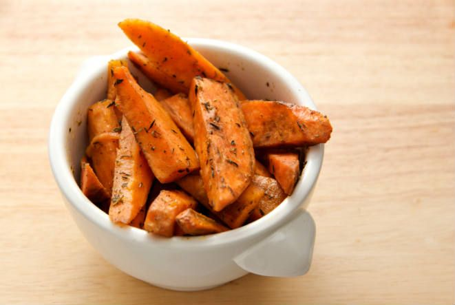 Baked Sweet Potato Wedges | HEALTHY Meals | Pinterest