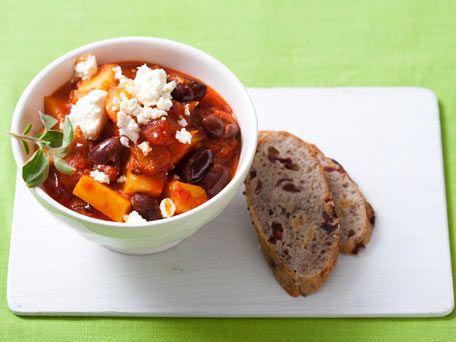 Potato and Kalamata Olive Stew | Cooking ideas | Pinterest