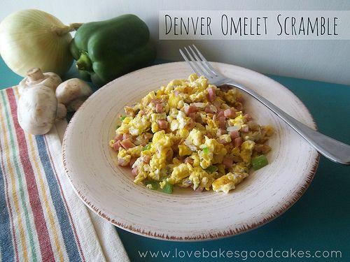 Denver Omelet Scramble,I love this scramble!!!