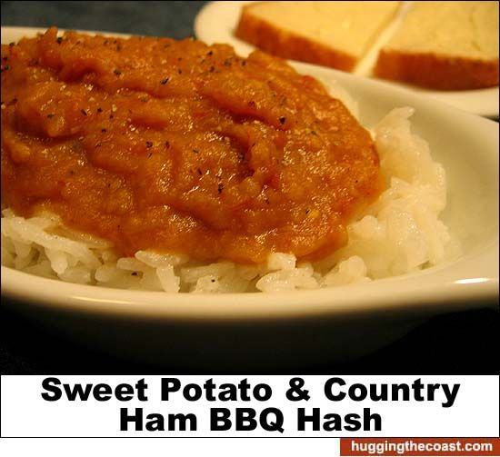 Sweet Potato and Country Ham BBQ Hash | Southern Cooking | Pinterest