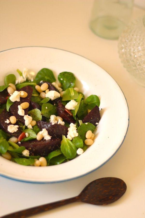 Geroosterde Bietensalade | Vegetarisch | Pinterest