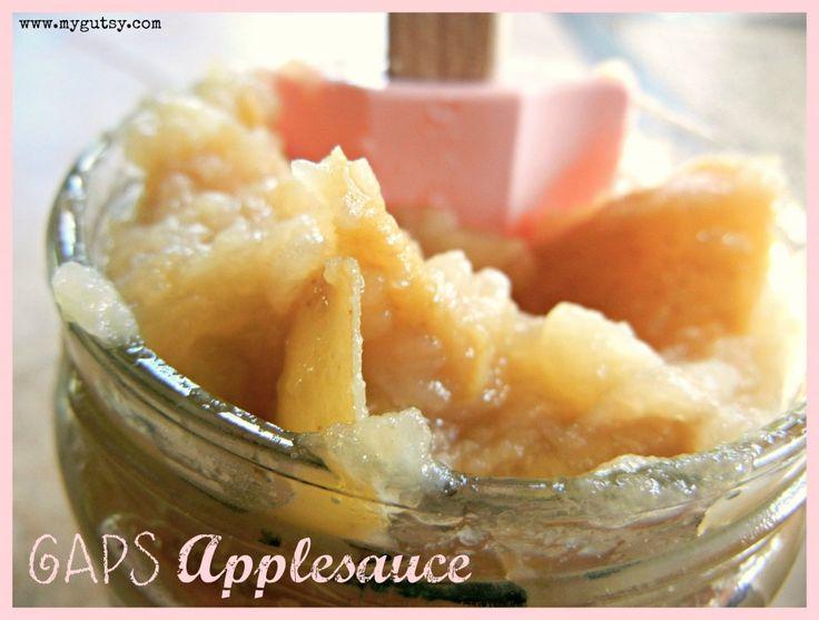 GAPS applesauce | GAPS Recipes | Pinterest