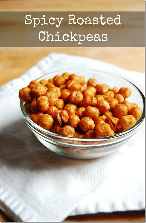 Spicy Roasted Chickpeas | What's Becky cooking? | Pinterest
