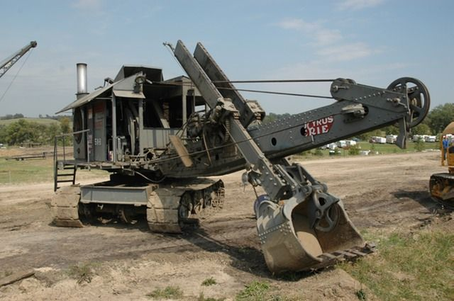 Steam Shovel! | Tractors | Pinterest