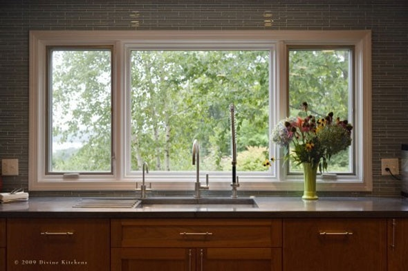 large open window above kitchen sink home pinterest