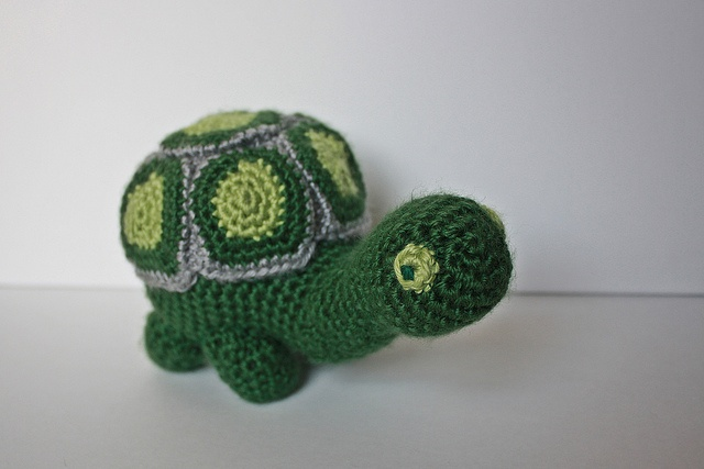 Free Crochet Pattern Turtle : Crochet Turtle - free pattern Cute Plushies Pinterest