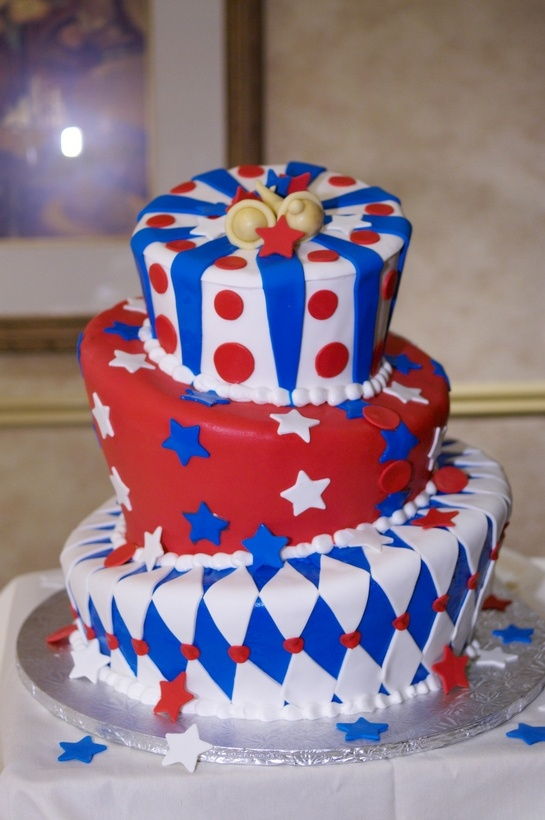 july 4th wedding cakes