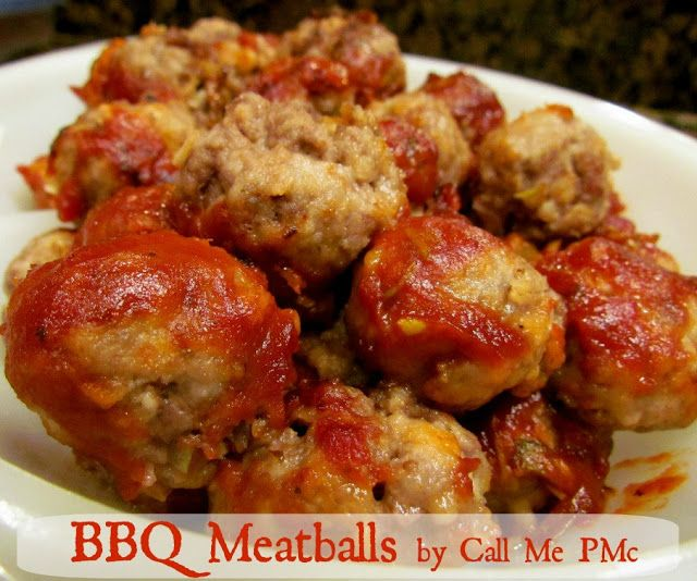BBQ Meatballs / Call Me PMc