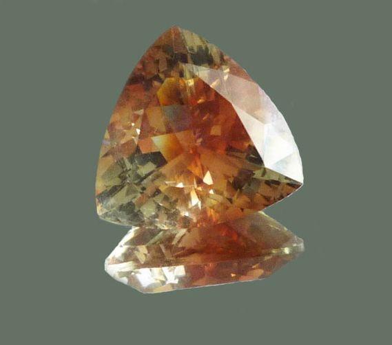 oregon sunstone 5 34 carat trillion gem gemstones
