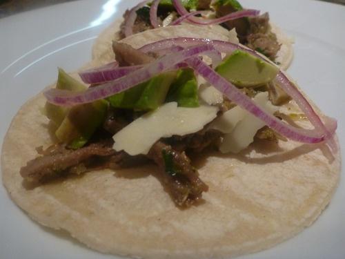 Salsa Verde Carnitas Tacos | Favorite Recipes | Pinterest