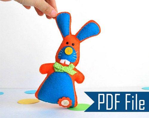 Bunny Rabbit Sewing Pattern Free